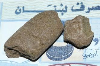 Sieved Lebanese cannabis resin or 'hashish',2009